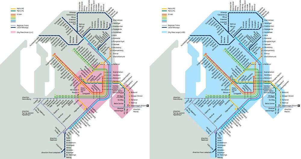Subway Map Of Kopenhagen.Buy Your City Pass Here Dot